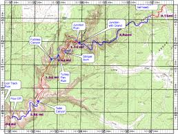 Topographic Map Of Utah topo map of grand gulch primitive area utah anasazi ruin map