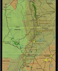 Pacific Crest Trail Washington Map by Golden Packet Event