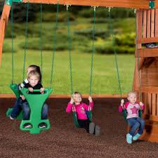 liberty ii wooden swing set playsets backyard discovery