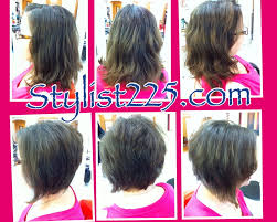 uneven bob for thick hair portfolio stylist225 com of baton rouge salon hair stylist