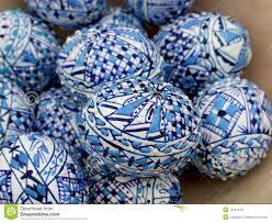 blue easter eggs blue easter eggs stock photo image of beginnings season 13161210