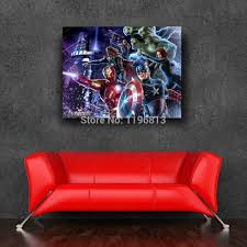 poster paint picture more detailed about avengers avengers superheros wall sticker inch xcm marvel adesivo parede posters free shipping