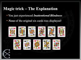 Inattentional Blindness Definition Detail To Attention Exploiting Visual Tasks For Selective