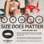 silicone wedding rings for men high performance rubber wedding