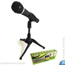 microphone de bureau black adjustable desktop studio microphone mic stand holder msn skpe