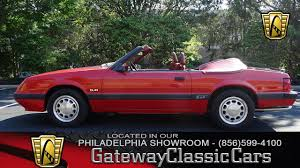1985 Mustang Convertible 1986 Ford Mustang Gt Gateway Classic Cars Philadelphia 130