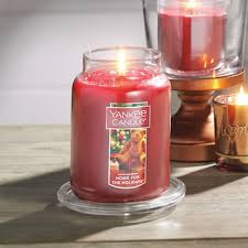 home interior candles home for the holidays large jar candles yankee candle