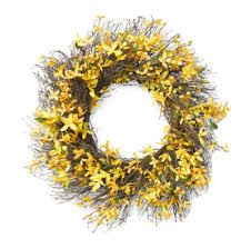 forsythia wreath forsythia wreath matchbook magazine