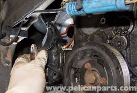 mini cooper r56 water pump replacement 2007 2011 pelican parts
