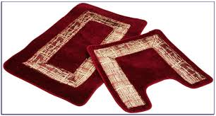 Bathroom Towels And Rugs by Kitchen Burgundy Kitchen Rugs Intended For Great Area Rug Sets