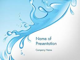 water powerpoint template blue water powerpoint template blue