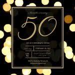 50 birthday invitations 50th birthday invitation wording samples