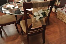 christmas chair back covers burlap chair cover ideas best home chair decoration
