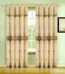 Curtains 60 X 90 Burgundy Danbury Embroidered Sheer Panel By Hlc Me 19 99 This