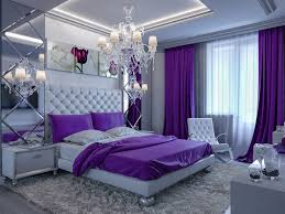 Purple Tufted Headboard by Bedroom Design Elegant Purpleed Bedroom Chandelier Contemporary