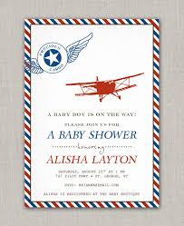 vintage airplane baby shower baby shower invitation templates airplane baby shower invitations