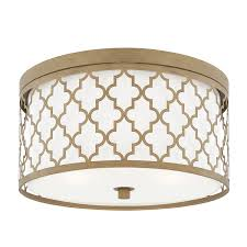 gold ceiling light fixtures brushed gold capital lighting fixture company