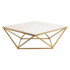 How To Clean Marble Table by Amazon Com Nuevo Jasmine Square Marble Top Coffee Table In Gold