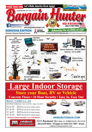 bargain hunter kenosha october 2016 by jeff scott issuu