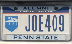 penn state alumni sticker penn state license plates the best of the best onward state