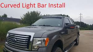 50 Curved Led Light Bar by Installing A 52