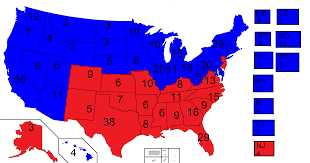 2016 Senate Map Projections by Us Map Vote 2016