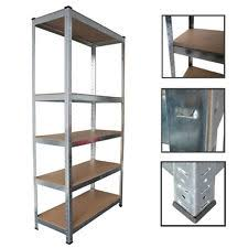 Heavy Duty Garage Shelving by Panana Heavy Duty 5 Tier Boltless Garage Shelving Unit Storage