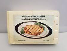 sizzle platters sizzle plates ebay