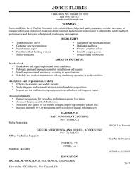 Janitorial Resume Sample by Home Design Ideas Objective For Resume Examples Entry Level