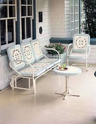 love seats for summer gliding or swinging today u0027s porch