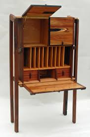 Wood Secretary Desk by Allan Parachini Gallery