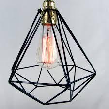 cage pendant light by unique u0027s co notonthehighstreet com