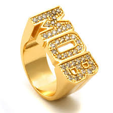 diamond king rings images The 14k gold m o b ring 925 sterling silver rings king ice jpeg