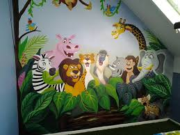 pin by school wall painting on rk fine art pinterest explore jungle animals wall murals and more