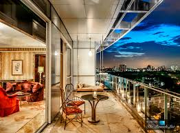 Ultra Luxury Apartments 081 St Regis Luxury Hotel Singapore President Suite Balcony Jpg