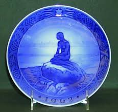 scarce 1962 royal copenhagen plate the