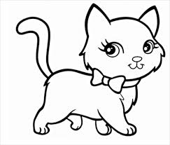 Cat Drawing Template cat drawings template 13 free pdf documents format