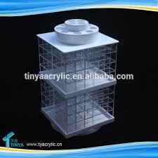 acrylic spinning lipstick display stand holder nail polish varnish