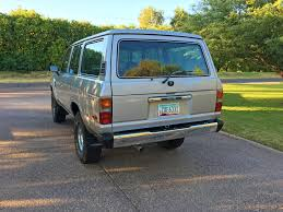 lexus lx450 for sale 1985 toyota land cruiser fj60 in metallic blue with an old man emu