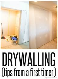 Laundry Room Pictures To Hang - tips for drywalling and mudding from a newbie laundry room
