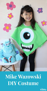 Halloween Costume Boo Monsters Inc Best 25 Mike Wazowski Costume Ideas On Pinterest Sully Costume