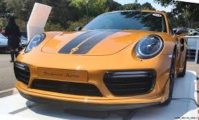 orange porsche 911 turbo 2018 porsche 911 turbo s exclusive series 4