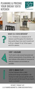 what does 10x10 cabinets planning and pricing your 10x10 kitchen