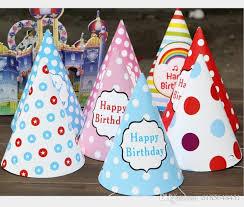 birthday hats wholesale children happy birthday hat party baking cake