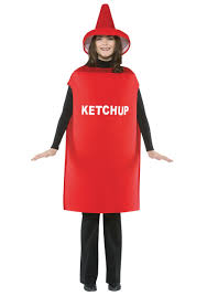 womens halloween costumes party city ketchup costume