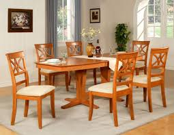 furniture chic hardwood dining set attractive and nice wood