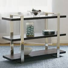 Metal Bookcases Banded Metal Bookcase U2014 Bookcases Better Living Through Design