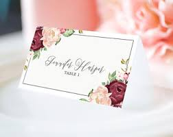 place cards for wedding wedding place cards etsy