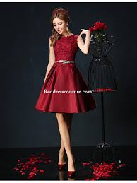 cocktail party dress burgundy jade petite ball gown jewel