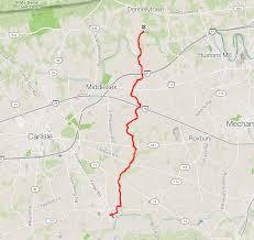 Appalachian Trail Pennsylvania Map by Mt Tammany And Sunfish Pond Nj Ny Hikes